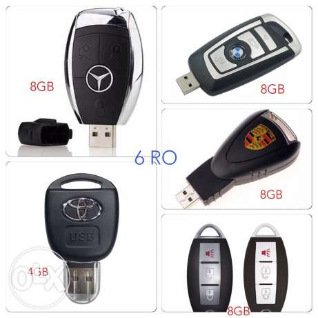 flash drive car key shape