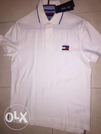 Original NEW Tommy Hilfiger men polo shirt size small - New