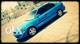 Honda My sweet car with bule shine