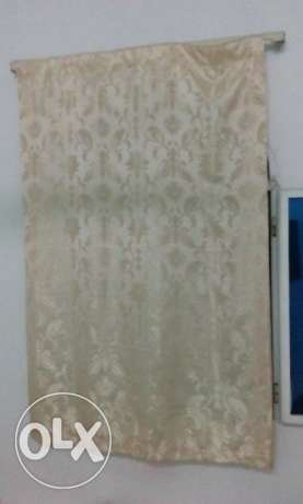 Golden color curtains - Like new