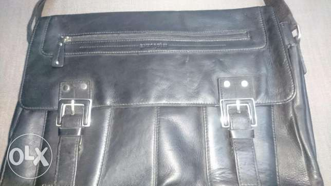 Beautiful genuine leather. Not used. Excellent condition بوشر -  3