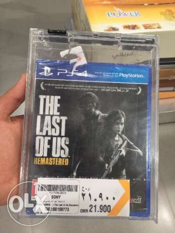 The last of us for sell two days old