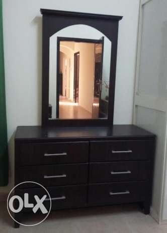 Dressing Table with Big Mirror صحار -  1