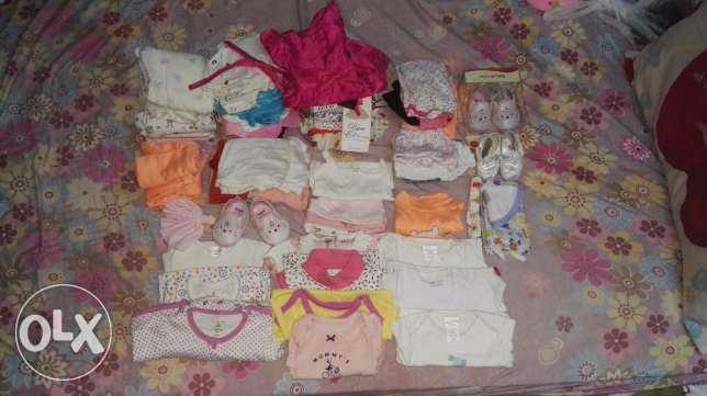 Baby clothes and Baby items