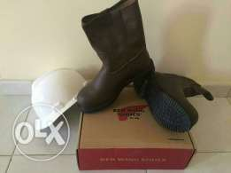 Red wing safety boots 42 safety shoes