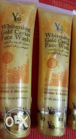 yc gold whitening face wash مسقط -  4