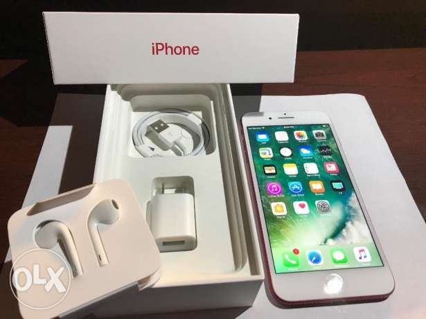 Apple iPhone 7 Plus (PRODUCT)RED 128GB