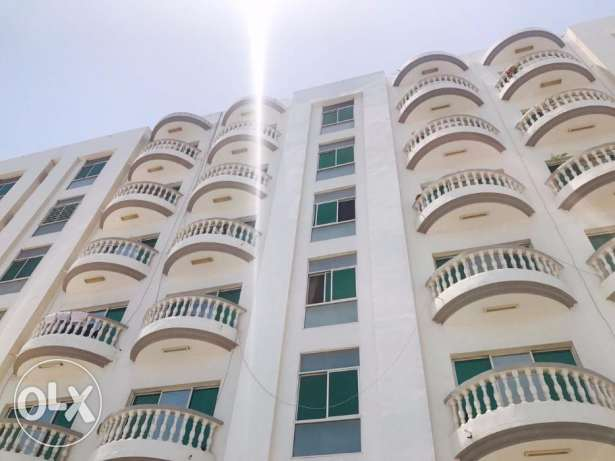 KL1-Beautiful 3 BHK+Maid Flat For Rent in Al Khuwair Nr.Rawasco+Balcon