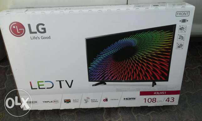 Brand new LG led tv السيب -  1