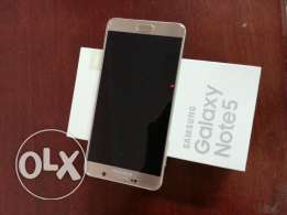 Samsung Galaxy Note 5, 32 gb gold colour
