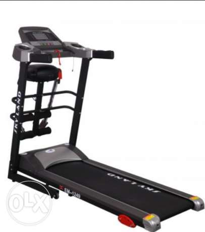 Treadmill with massage