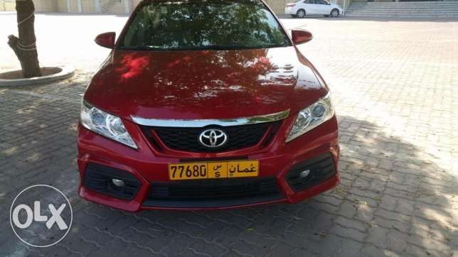 Toyota aurion 2015 sport under warranty low millage (14000km) only مسقط -  3
