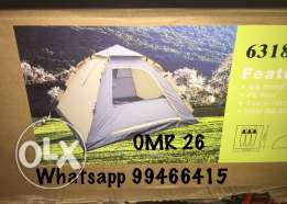 Camping Tent for 3 people, quick to set and pack