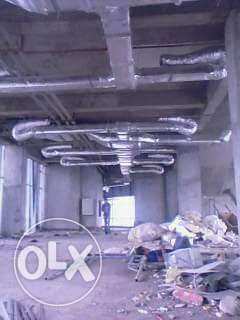 AC fixing and Ducting