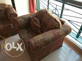 Well Maintained Sofa for immediate Sale (3+1+1)