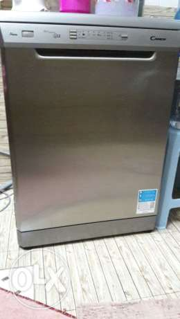 Very less used brilliant grey Candy Dishwasher for urgent sale