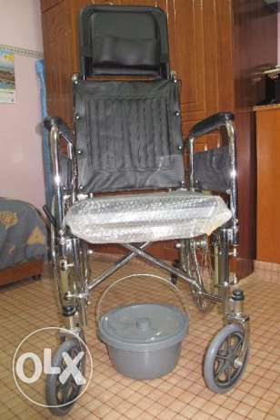 Wheel Chair with folding mechanism for the aged.