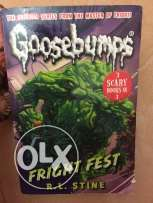 goosebumps Fright fest book(3scary books in 1 )