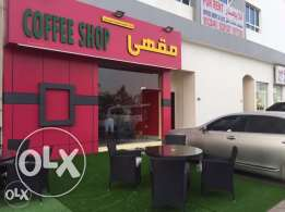 coffee shop for urgent sale in alkhoudh