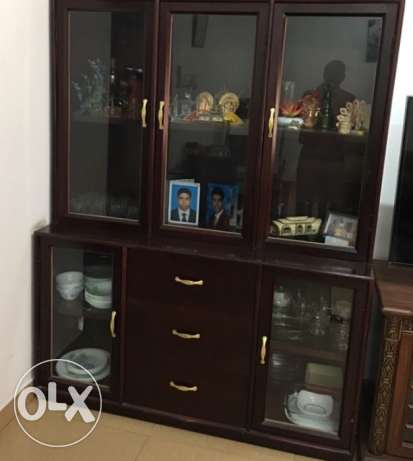 Wardrobe ( 90 Rial ) and shelf ( 90 Rial )