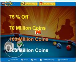 8 Ball Pool Coins Sale ,offer Low PRICES !