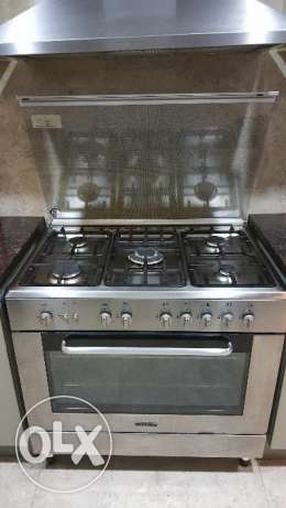 KENWOOD Cooker , 5 Burner with Griller, very good condition
