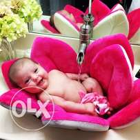 blooming baby bath- colour yellow, pink