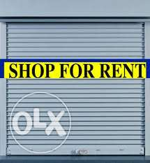 Shop's for rent behind Toyota service centre.