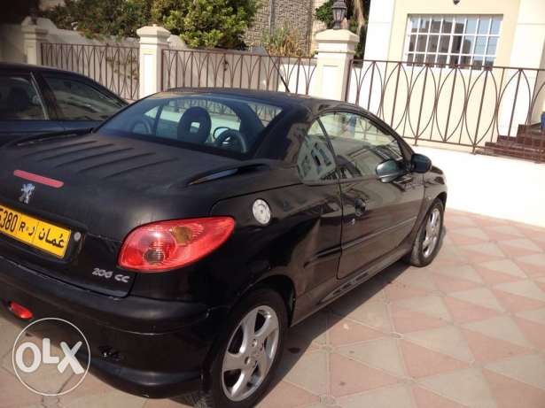 Peugeot model 206CC covertable for sale , year 2007 السيب -  6