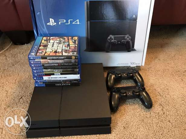 sony ps4 / 9 games