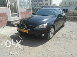 Lexus is300 for sale 2007 model in perfect condition accident free