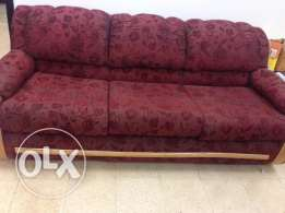 sofa set and storage unit