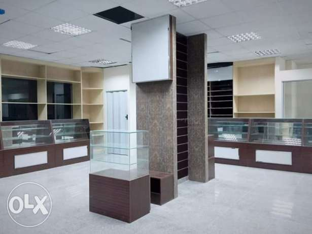 Office,Shop,Saloons,Restaurants Decor & Complete glass & Carpentry مسقط -  5