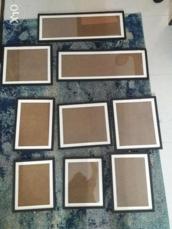 Photo frames for sale. Good condition. Call or WhatsApp