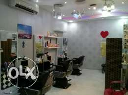 Turkish barber shop for sale in alkhouad souk
