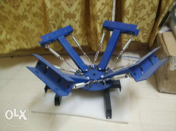 NEW 4 in 1 Manual 4 Screen Printing Machine for sale