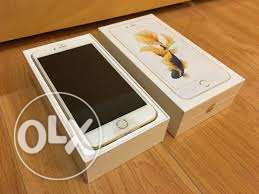 Apple iphone 6s plus rose gold colour
