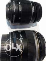 CANON EFS 60mm F2.8 lens with Polarising filter
