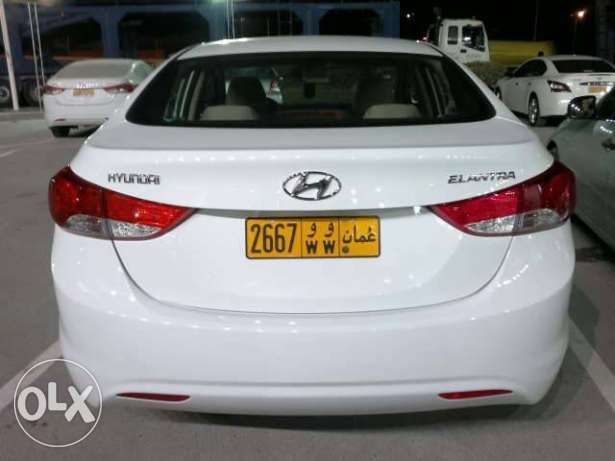 Hyundai Elantra 1.8 from Oman with warranty from dealer