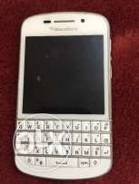 Blackberry phone almost new just bought 6months back