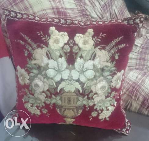 Syrian Pillows Chamois 5 pieces بوشر -  2