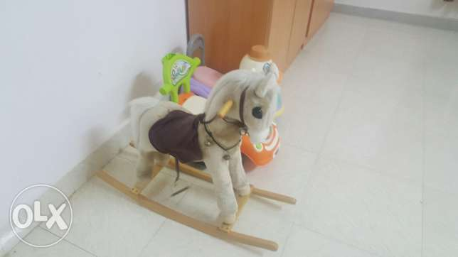 Swing, Horse and cars صلالة -  3