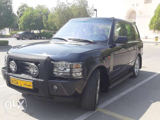 RANGE ROVER HSE 2005 All service with the dealer Oman MHD very clean السيب -  1