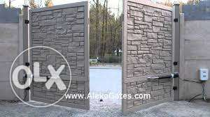 Automatic Gates and barriers. Exported Quality