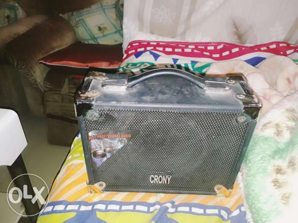 Crony Que Outdoor Speaker Party Machine Karaoke System With Wire