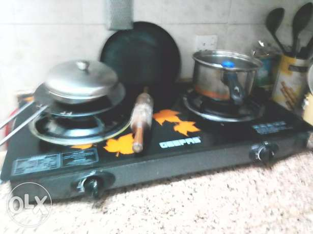 Gas stove and cyllinder