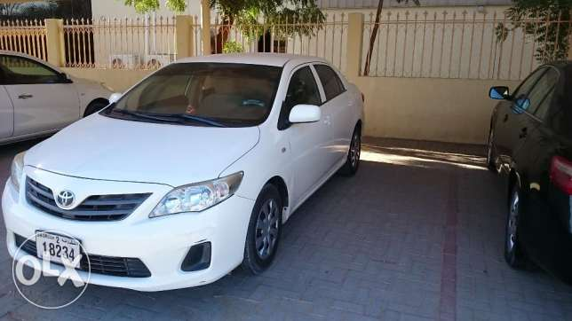 1.6 Corolla 2013 model for sell urgently بوشر -  1