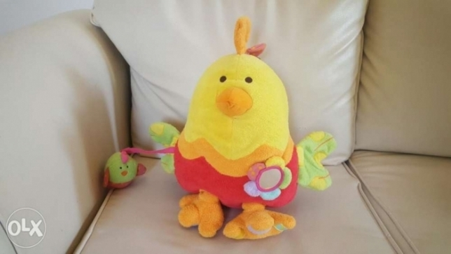 An ELC soft hen an chicken toy.