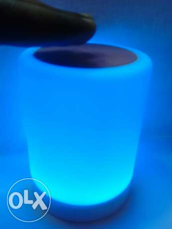Touch lamp bluetooth speaker السيب -  7