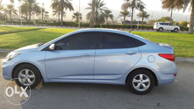 2012 Exelent Accent 1.6 for sale..Oman wakkala بوشر -  2